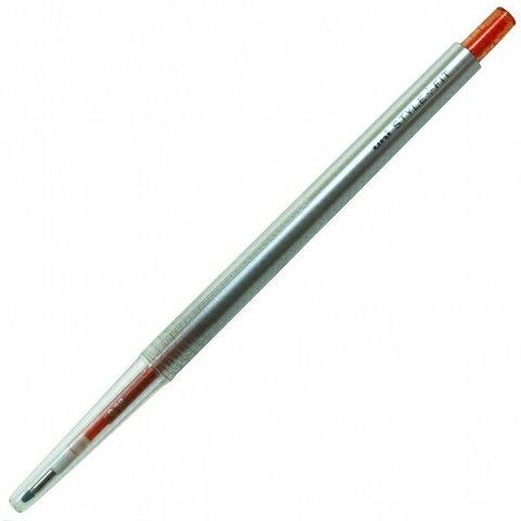 Гелевая ручка 0,38 мм Uni Style Fit - Red Orange - красно-оранжевые чернила