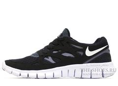 Кроссовки Mужские Nike Free Run 2 Black White