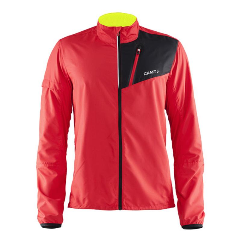 Мужская куртка для бега Craft Devotion Run Black (1903196-2430)