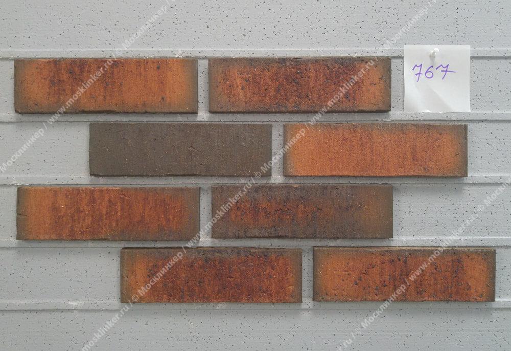 Feldhaus Klinker - R767NF14, Vascu Terracotta Locata, 240x14x71 - Клинкерная плитка для фасада и внутренней отделки