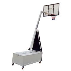 """Баскетбольная мобильная складная стойка со щитом 60"""" (152 х 90 см) из поликарбоната"""
