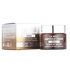La Miso Snail Ampoule Cream - Ампульный крем для лица с экстрактом слизи улитки