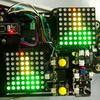 Цветная светодиодная матрица 8×8