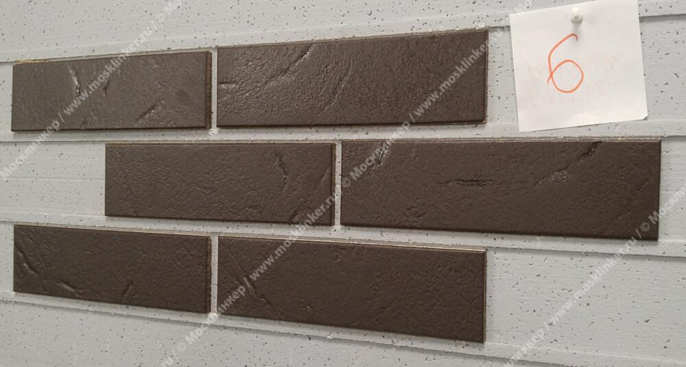 ABC - Antik, Mangan, 240х71х8, NF - Клинкерная плитка для фасада и внутренней отделки