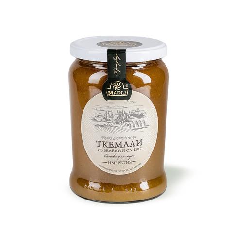 Пюре ткемали (основа для соуса из зелёной сливы)