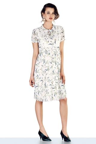 Платье для беременных 10269 цветы