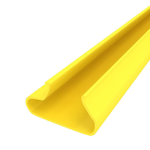 Вставки пластиковые в экономпанель ВН 12/23 - желтые, 1200мм