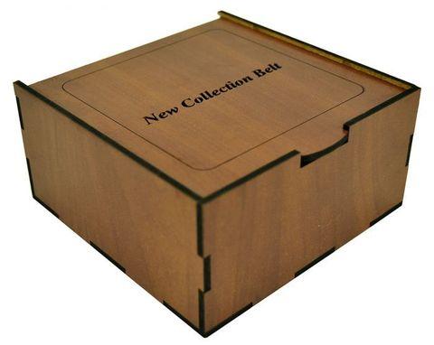 Коробка подарочная для ремня 13х13х6,5 см арт.7042