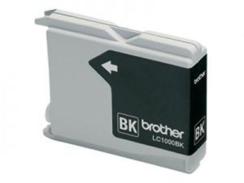 Brother LC1000BK черный картридж для МФУ DCP-130C/330С/MFC-240C/5460CN. Ресурс 500 стр. @ 5%