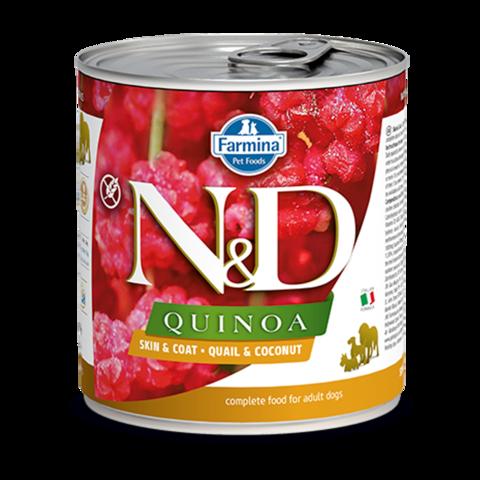 Farmina Dog Quinoa Quail & Coconut Консервы для собак с Перепелом, киноа и кокосом