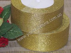 Лента парча золотая ширина 5 см
