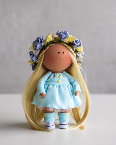 Кукла Гвен. Коллекция Flower doll
