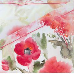 Постельное белье 2 спальное Elegante Avignon красное