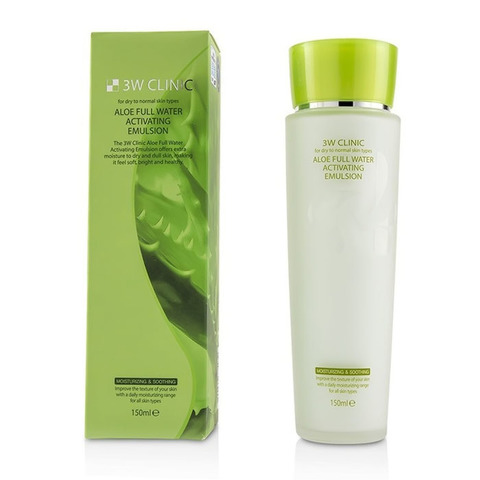 3W CLINIC Aloe Full Water Activating Emulsion