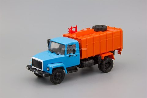 GAZ-3307 KO-413 garbage truck 1:43 DeAgostini Auto Legends USSR Trucks #54