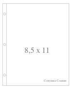 Фотофайлы Project Life-Дизайн 8,5x11-штучно