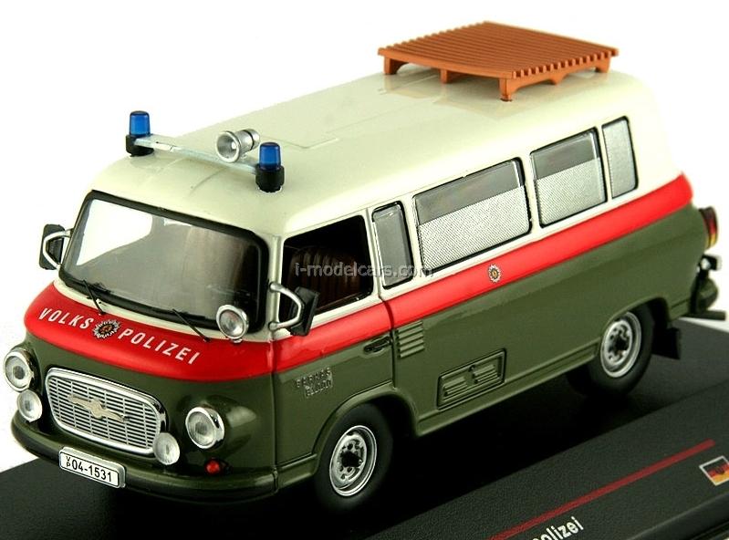 MODEL CARS Barkas B1000 Volkspolizei 1968 IST048 IST Models 1:43