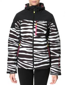 Женская куртка 8848 Altitude TEKSAS zebra (6780Н6) спереди