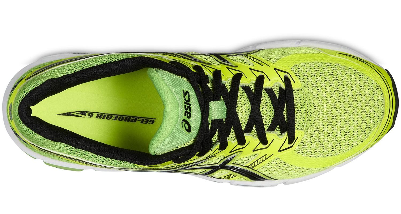 Мужские беговые кроссовки Asics Gel Phoenix 6 (T420N 0799) желтые фото сверху