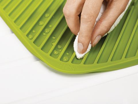Коврик для сушки посуды flume™ большой серый