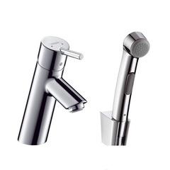 Смеситель для раковины с гигиеническим душем Hansgrohe Тalis S2 32140000 фото