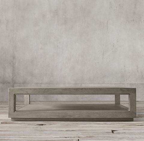 Grand Framed Square Coffee Table
