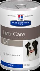 Ветеринарный корм для собак с заболеваниями печени Hill`s Prescription Diet l/d