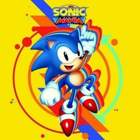 Виниловая пластинка. Sonic Mania by Tee Lopes