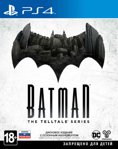Sony PS4 Batman: The Telltale Series (русские  субтитры)