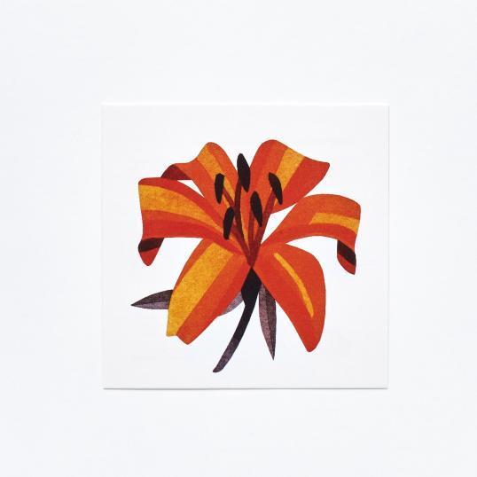 Переводная татуировка Lily Flower