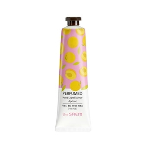 THE SAEM Hand P Крем-эссенция для рук парфюмированный Perfumed Hand Light Essence -Apricot- 30мл