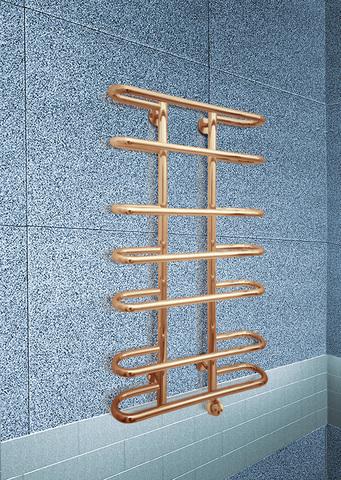 Furror Bronze E - бронзовый электрический полотенцесушитель с округлыми перекладинами