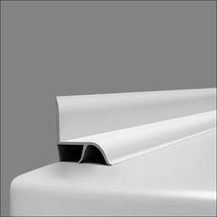 Бордюр для ванны на плитку (20,4 мм)