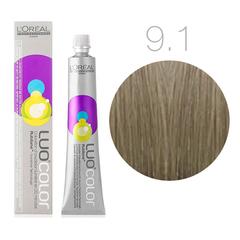 L'Oreal Professionnel Luo Color 9.1 (Очень светлый блонд пепельный) - Краска для волос