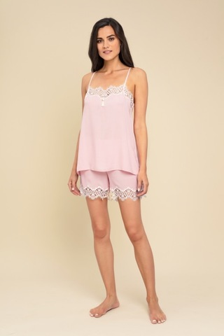 LAETE Женская пижама из  вискозы с кружевом 61342-1