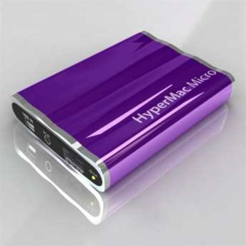 HyperMac Micro 3600mAh – внешняя батарея для iPhone/iPod (Purple)