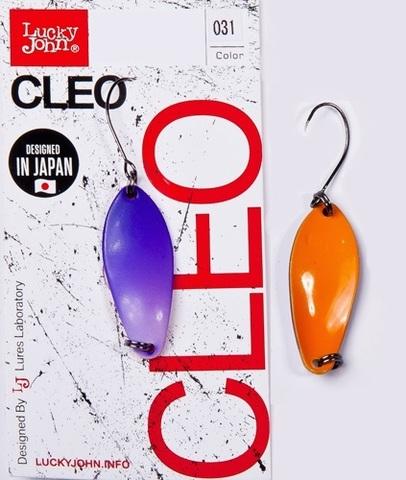Блесна LUCKY JOHN Cleo 2,5 г, цвет 031, арт. LJCL25-031