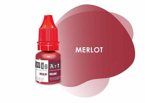 Merlot (мерло) • Wizart Organic • пигмент для губ