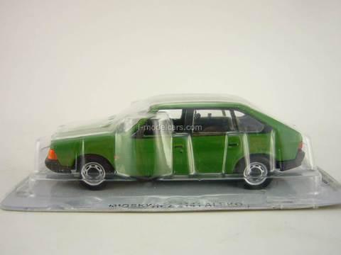 Moskvich-2141 Aleko green 1:43 DeAgostini Kultowe Auta PRL-u #67