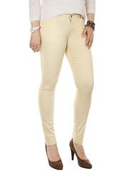 706-13 джинсы женские, бежевые