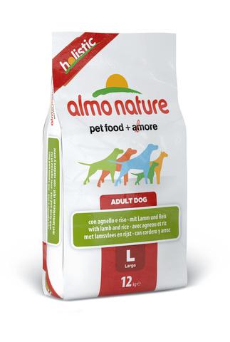 Сухой корм Almo Nature Holistic - Large&Lamb