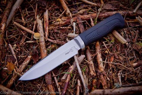 Тактический нож Амур-2 Полированный Эластрон