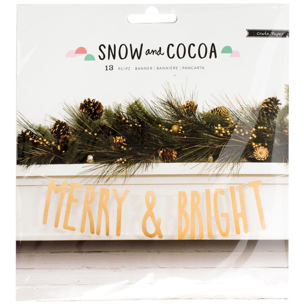 Растяжка -баннер Snow & Cocoa от Crate Paper