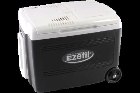 Термоэлектрический автохолодильник Ezetil E 40 M 12/230V Manual Boost (12V/220V, 40л, черный)