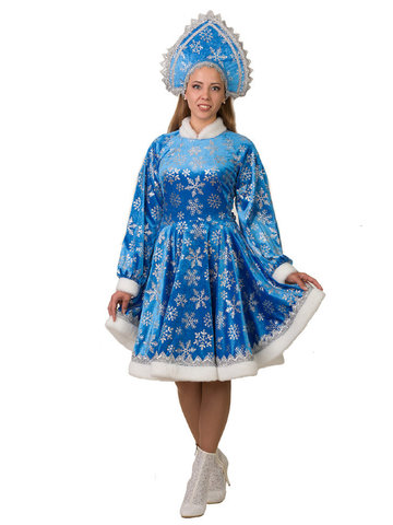Костюм Снегурочка Амалия голубая