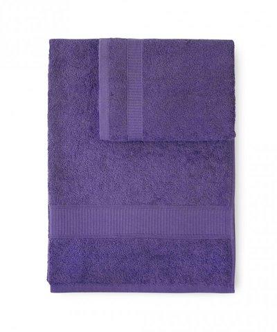 Набор полотенец 2 шт Caleffi Calypso фиолетовый