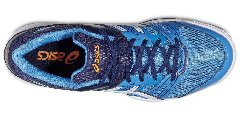 Мужские волейбольные кроссовки Asics Gel-Rocket 7 (B405N 4101) синие фото