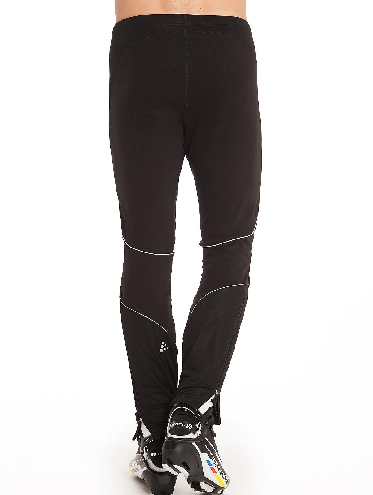 Мужской разминочный лыжный костюм Craft Storm (194653-9810-193352-1999) лайм