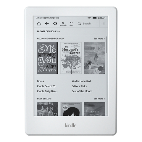 Электронная книга  Amazon Kindle 8 White Белая без рекламы