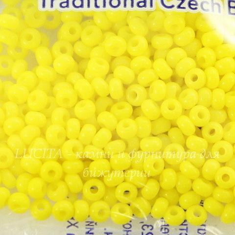 83110 Бисер 10/0 Preciosa Керамика желтый